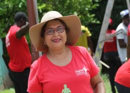 Jean Lowrie-Chin was awarded for her work as founder of the Caribbean Community of Retired Persons (CCRP).