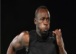 Global Sprint star Usain Bolt.