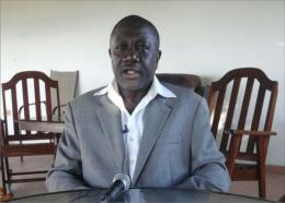 Le maire des Cayes, Gabriel Fortuné.