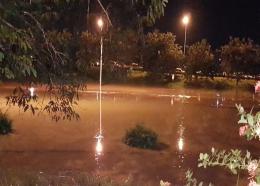Photos courtesy Trinidad Weather Centre