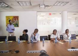 Trend Media lance Infobip en Haiti, Photo : Estailove St-Val/Loophaiti
