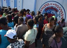 Enregistrement de demande de crédit dans le cadre de l'ONAFANM. Photo : ONA/Facebook