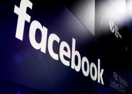 (Image: AP: Facebook logo)