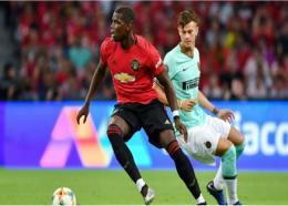 Manchester United midfielder Paul Pogba.