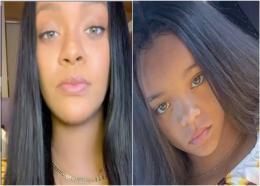 (L-R) Rihanna and Ala