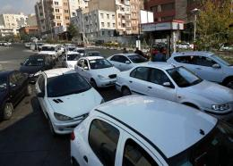 Vehicles queue to enter a gas station in Tehran, Iran, November 15, 2019. Authorities have imposed rationing and increased the prices of fuel. (AP Photo/Vahid Salemi)