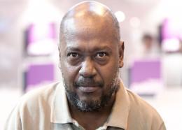 Le poète et romancier haïtien Lyonel Trouillot