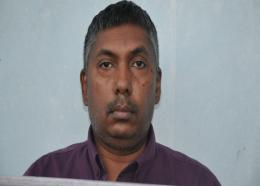 Photo: Tamashraj Ramkissoon was charged with breaching the Public Health Ordinance Regulations which was enacted to prevent the spread of COVID-19 (coronavirus). Photo via the TTPS.