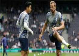 Son Heung-min (left) and Harry Kane.