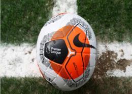 An English Premier League ball.