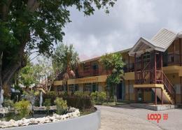Princess Margaret Memorial Secondary School on 11-plus day 2020.