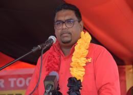 President Elect Dr Irfaan Ali. Photo: PPP/C