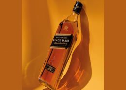 The 12 year old Johnnie Walker Black Label has  a signature smooth, smoky taste.