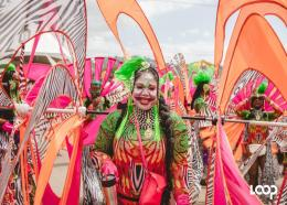 FILE photo: Masquerader from the 2020 presentation from K2K. Carnival may not be held next year but stakeholders look forward to a virtual celebration of T&T's culture.