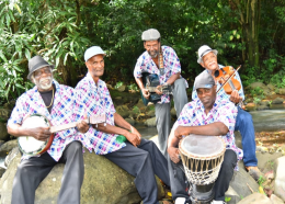 Manmay Lakay band, photo via Events Saint Lucia Facebook page
