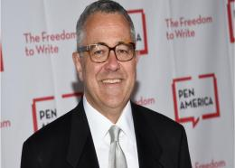 """Lawyer and author Jeffrey Toobin attends the 2018 PEN Literary Gala in New York on May 22, 2018. Toobin has been suspended by the New Yorker and is stepping away from his job as CNN's senior legal analyst pending what the cable network is calling a """"personal matter."""" (Photo by Evan Agostini/Invision/AP, File)"""
