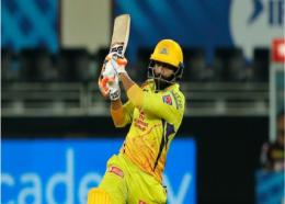 Ravindra Jadeja hit a six off the last ball to seal the victory for Chennai Super Kings.