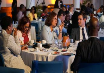 Participants at the Barbados International Business Association (BIBA) conference. 