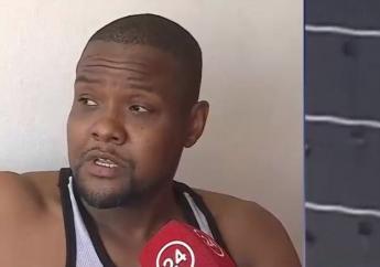 Richard Joseph, haïtien devenu héros au Chili pour avoir sauvé une femme chuté du 9ème étage d'un immeuble.