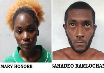 Photos courtesy the Trinidad and Tobago Police Service.