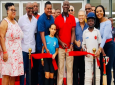 Prime Minister Dr Keith Rowley formally opens the Diego Martin Sporting Complex. Photo via Facebook, Dr Keith Rowley.