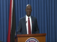 Prime Minister Dr Keith Rowley speaks at the Post Cabinet Media Briefing May 23, 2019.
