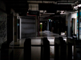 Hallways of Buenos Aires's subway are lit only by emergency lights during a blackout, in Buenos Aires, Argentina, Sunday, June 16, 2019. Argentina and Uruguay were working frantically to return power on Sunday, after a massive power failure left large swaths of the South American countries in the dark. (AP Photo/Tomas F. Cuesta)
