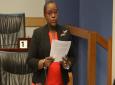 PNM National Women's League Chairman Camille Robinson-Regis.