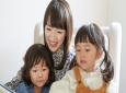 Marie Kondo with her kids.