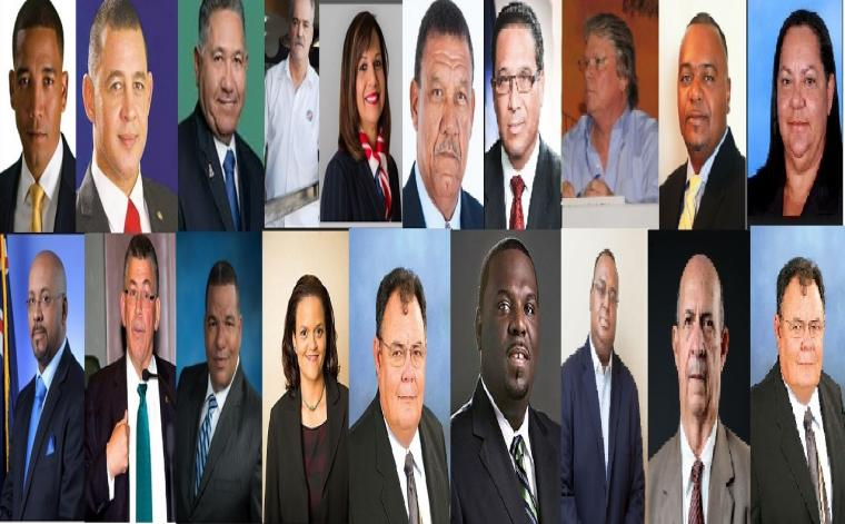 Photo of all the winning candidates in the Cayman Islands 2017 General Elections