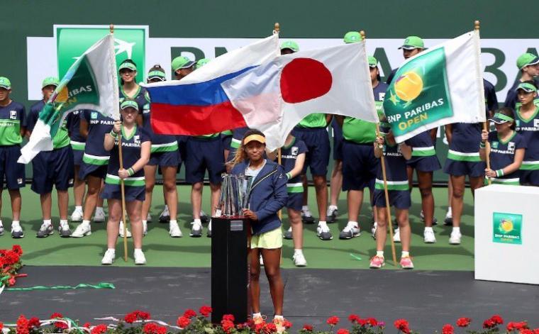 Agée de seulement 20 ans, Naomi Osaka a eu gain de cause en finale sur Daria Kasatkina (6-3, 6-2)./ Photo: Naomi Osaka (Twitter)