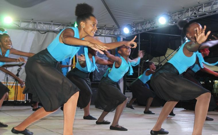 Independence Cultural Show last night at Constitution Park