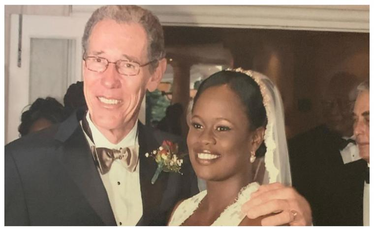 Ralph 'Bizzy' Williams and Shelly Williams back on their wedding day (Source: IG)
