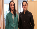 Trinidadian Stefan Uddenberg (right) and Michael Lopez-Brau won the Yale Hackathon Challenge and will present their findings to Congress.
