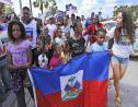 Des haïtiens manifestent pour le renouvellement du TPS/ Photo: Miami Herald