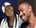 Collage Naomi Osaka et Michael B. Jordan