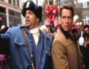 Photo: Arnold Schwarzenegger and Sinbad star in 'Jingle All the Way' (1996).