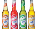 The new labels on the Shandy Carib bottles allow consumers to watch a series of movies created by the brand.