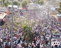 Une immense foule lors de la marche pacifique organisée à Port-au-Prince le 11 octobre dernier à l'initiative d'un groupe d'artistes
