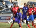 Action between defending champions Kingston College and Camperdown High in their final quarter-final round match of the 2019 ISSA/Digicel Manning Cup competition. KC won 2-1 to qualify for the final. (PHOTO: Marlon Reid).