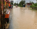 Flooding at Clarke Road, Penal on December 12, 2019. Photo via social media.