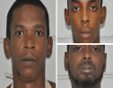 From left: Michael McClean, Miguel Wallen and Kyle Barker. Photos courtesy the Trinidad and Tobago Police Service (TTPS).