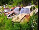 Derelict vehicles (FILE)