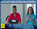 Acting director of the Barbados Meteorological Services,  Sabu Best gives a report of the 2020 Atlantic Hurricane season.