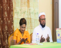 UNC leader Kamla Persad-Bissessar at a meeting over the weekend where the Muslim Federation declared its support for the UNC ahead of the August 10 general election.