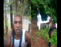 Relatives fear missing Meshach Emilien (left) is the body found by a Garrand ganja plantation (right)