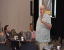 Photo: Dr Todd Conklin at AMCHAM T&T's 23rd HSSE Conference, 2019. Image courtesy AMCHAM T&T.
