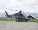 One of the grounded AW139 helicopters that could return to service in the coming weeks. (via news.gov.tt)