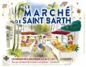 The poster for the St Barth Market on Sunday.