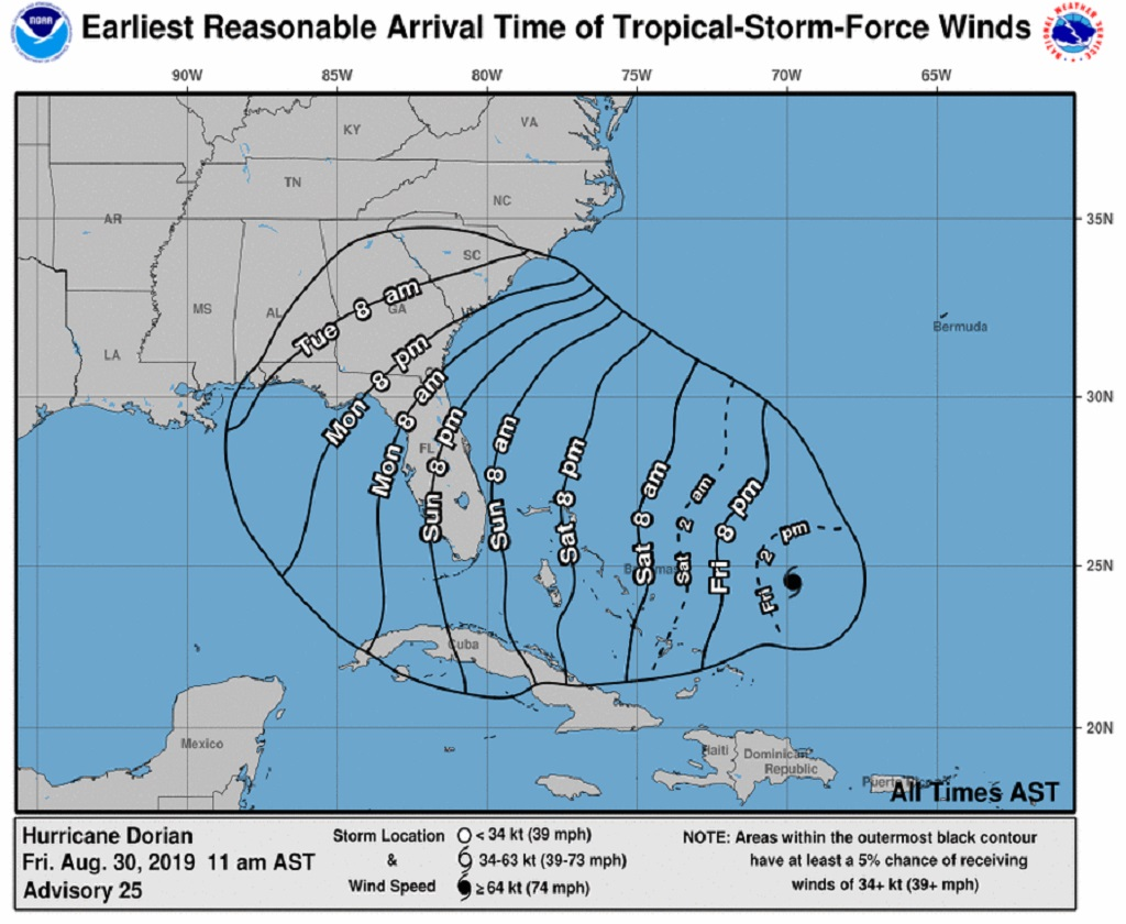 Welp, Jim Cantore heading to Florida for Hurricane Dorian, report says